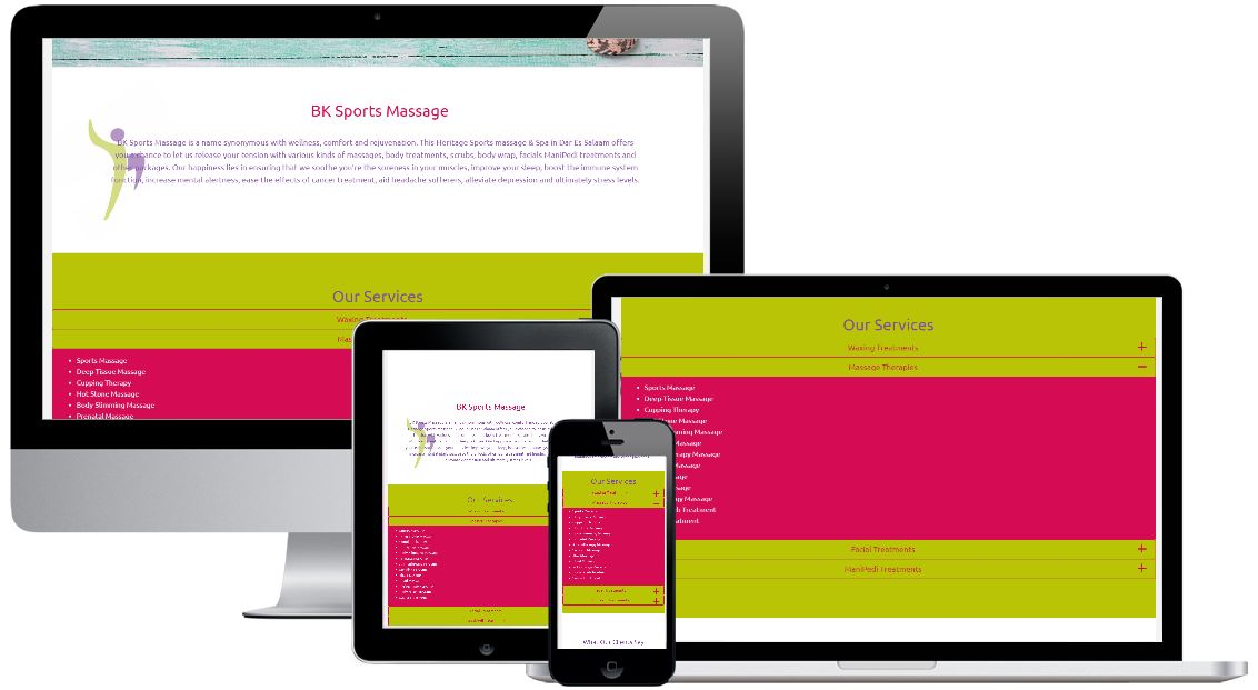 responsive devices with BK